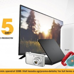 Lazada: Coupon Code for $25 OFF at Gain City