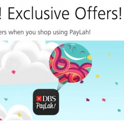 DBS Paylah: The Great Online Shopping Festival 2016 Exclusive Offers
