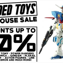 Sheng Tai Toys: Branded Toys Warehouse Sale Up to 90% OFF Bandai, Gundam, Disney, Pokemon & more!