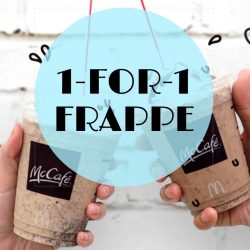McDonald's: 1-for-1 Frappe Promotion at McCafe