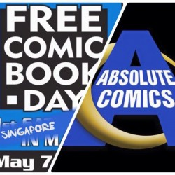 Absolute Comics: Free comic book day for all you ignorants