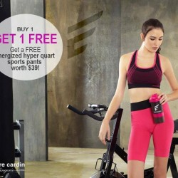 Pierre Cardin: Buy 1 Get 1 FREE Energized hyper quart sports pants