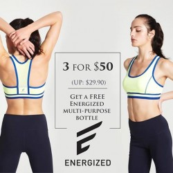 Pierre Cardin: Get 3 for $50 plus a free multi-purpose Energized bottle