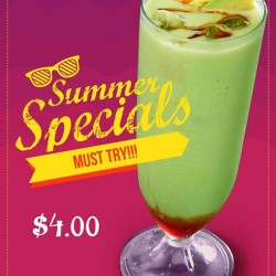 Kopitiam: summer special Avocado and Gula Melaka Shake promotion at Cantine @ Jurong Point