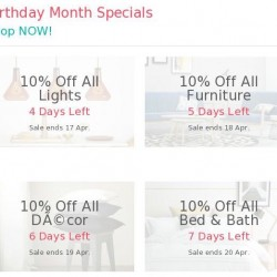 HipVan: Coupon Code for 10% OFF All Bed & Bath