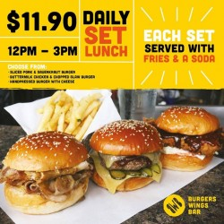 BWB: Set Lunch for only $11.90+