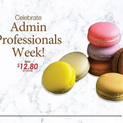 Delifrance Singapore: Admin Professional Week Celebration Promotion