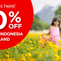 AirAsia: Airfare Promotion - 50% Off Malaysia, Indonesia and Thailand Flights