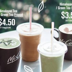 McCafe: Save up to $1.20 on Himalayan Tea, Green Tea Latte & Frappe