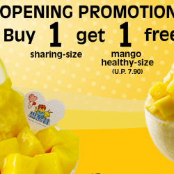 Smoothie House: Buy 1 Get 1 Free Mango Snowflake Ice Dessert at Westgate
