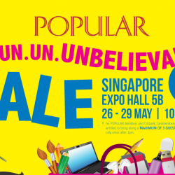 Singapore Expo: Popular Un.Un.Un.Unbelievable Sale Up to 60% OFF