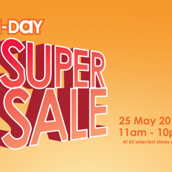 Guardian: 1-Day Super Sale with Up to 80% OFF & Over 500 Exclusive Deals!