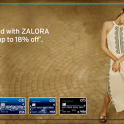 Zalora.sg: Citibank Card Holders Exclusive Coupons --- Up to 18% OFF all year round