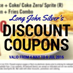 Long John Silver's: Save up to $3.30 with Discount Coupons!