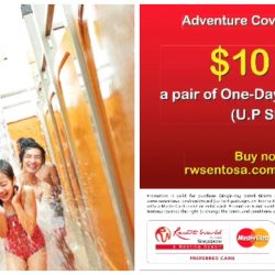 Adventure Cove Waterpark: MasterCard Promotion - Get $10 OFF a Pair of Adult Passes
