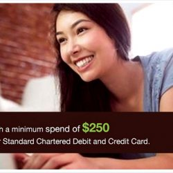 Lazada: Coupon Code for $30 OFF with Standard Chartered Cards