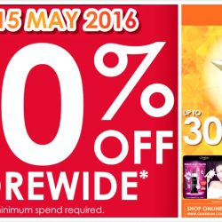 Guardian: 20% OFF Storewide Promotion In Stores & Online