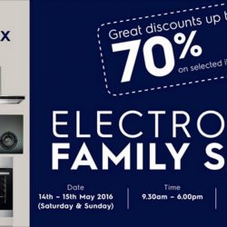 Electrolux: Family Sale with Discounts up to 70%