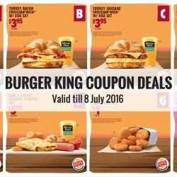 Burger King: Save more with Coupon Deals!