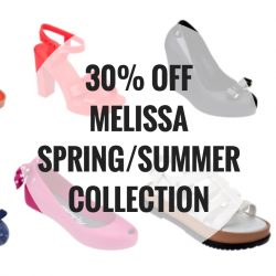 Mdreams: Sign up their newsletter for 30% OFF Melissa Spring/Summer 2016 Collection