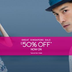 G2000: Great Singapore Sale Up to 50% OFF + Additional 15% OFF for wt+ & UOB Cardmembers