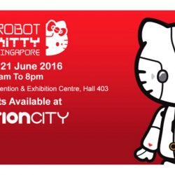 Suntec Convention & Exhibition Centre: Robot Kitty Singapore + 18% OFF Tickets for Citibank Cardmembers