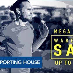Royal Sporting House: Mega Sports Warehouse Sale 2017 Up to 80% OFF + Additional 5% OFF For Safra members