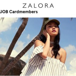 Zalora: Coupon Code for 15% OFF with UOB Cards