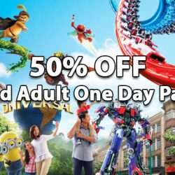 NTUC: 50% OFF 2nd Adult One-Day Pass for Universal Studios Singapore®