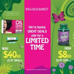 Holland & Barrett: Greats deals for a limited time only