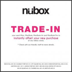 Nübox: Trade in your used iMacs & Macbooks and instantly offset your new purchase!