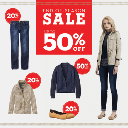 Timberland: End Of Season Sale with discounts up to 50%