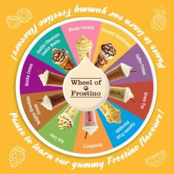 Costa Coffee: Spin Wheel of Frostino to win a FREE Frostino