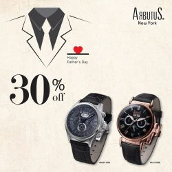 Arbutus: Father's Day Promotion 30% OFF