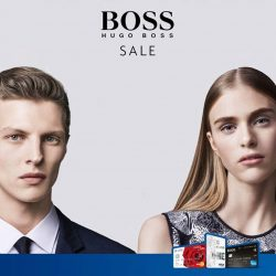 Hugo Boss: End Season Sale Up to 30% OFF + Additional 10% OFF Sale Items with UOB Cards