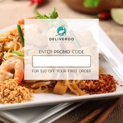 Thai Express Delivery: $10 OFF Your First Order at Deliveroo