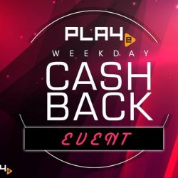 PLAYe: Receive Cashback up to $60 with transactions made this week