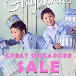 Gingersnaps: Great Singapore Sale 15% off regular prices + Additional 5% off for Members