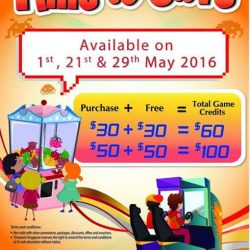 Timezone: Double Dollar Deals at all Timezone Outlets on 21 May 2016