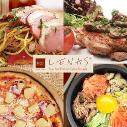 Lenas: NEW SET LUNCH from $10.90++ only + 30% OFF Dessert