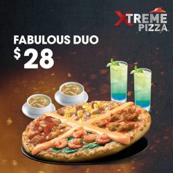 Pizza Hut: Xciting meal for 2 at $28