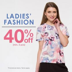 Bossini: 40% off Ladies' collection