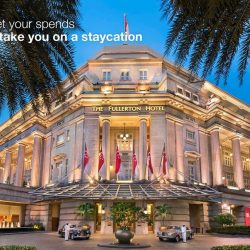 Standard Chartered Bank: Enjoy 1-night stay at The Fullerton Hotel Singapore with a minimum spend of $10,000