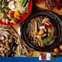 Seoul Garden: Receive a $8 Return Voucher Upon $80 Spend with UOB Cards
