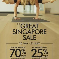 Fit N Fab: Great Singapore Sale Promotion and enjoy discounts up to 70% off