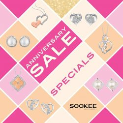 Sookee Jewellery: Anniversary Sale $10 off all sale items with up to 50% off