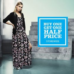 New Look: 2nd Piece at Half Price