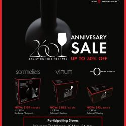 Riedel: Anniversary Sale Up to 50% OFF Limited Edition Value Packs