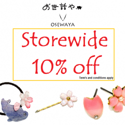 Osewaya: 10% OFF Storewide Sale