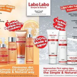 Dr.Ci:Labo: GSS Promotion with 15% OFF Labo Labo Super-Keana and Super-Moist at selected Watsons